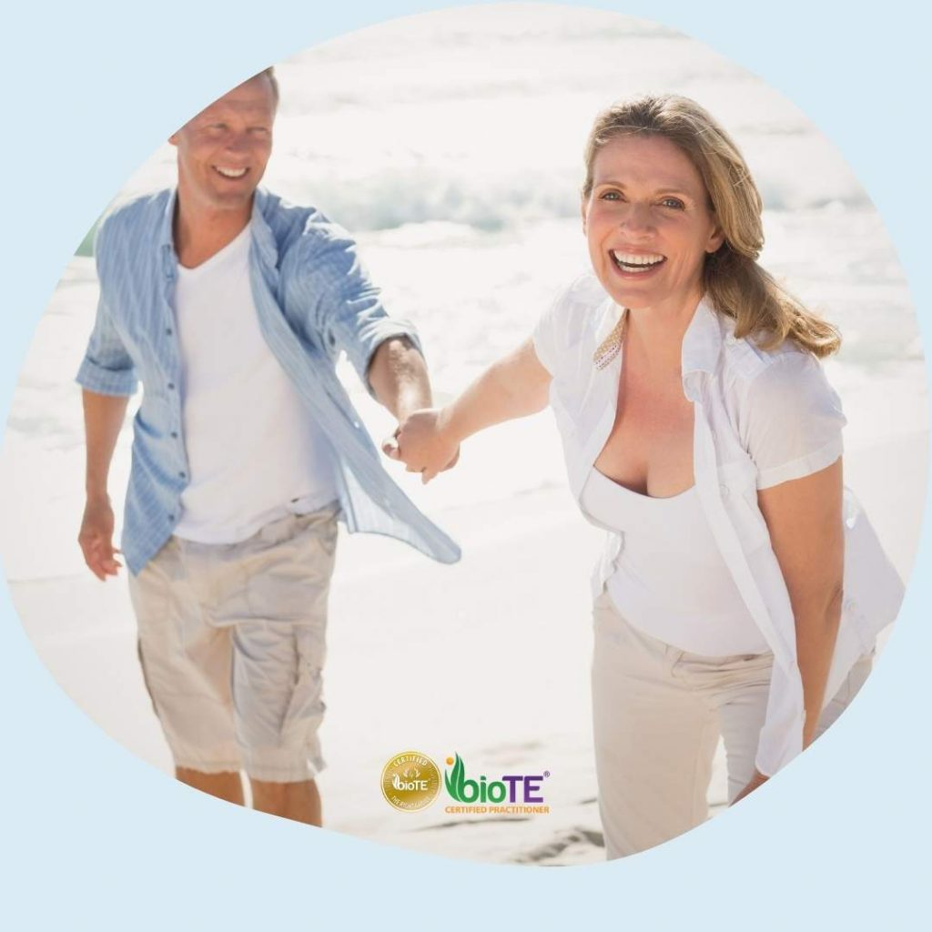 Happy Middle age couple - BioTE Hormone Rx