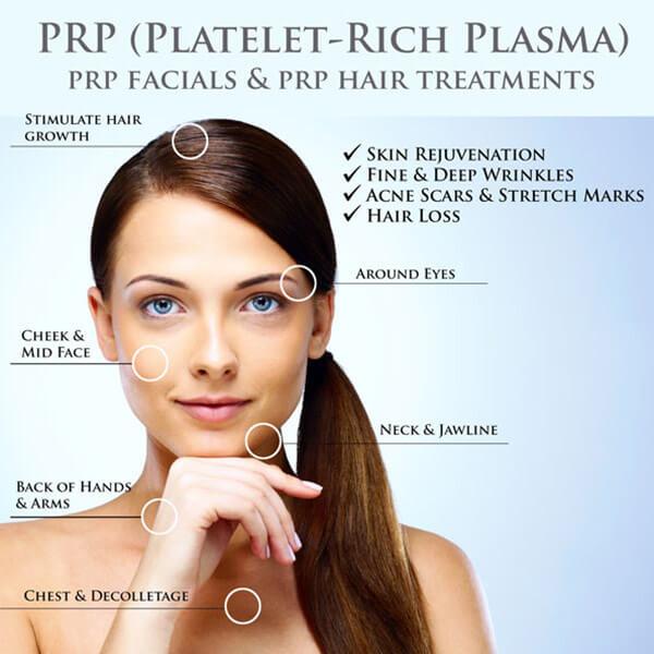 cosmetic services - prp-facial